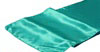 turquoise satin runner cropped